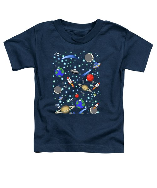 Galaxy Universe Toddler T-Shirt