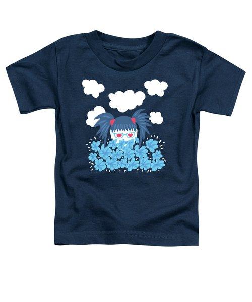 Geek Girl Waiting For Spring Toddler T-Shirt