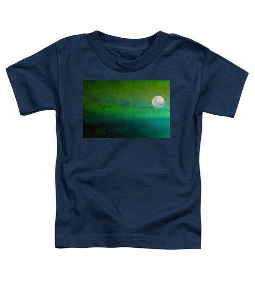 Geese In Flight  Toddler T-Shirt