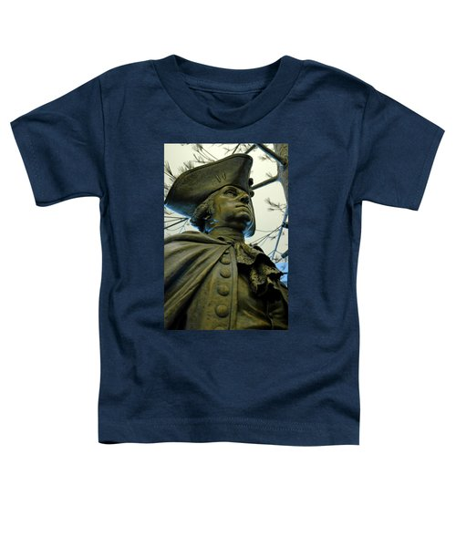 General George Washington Toddler T-Shirt by LeeAnn McLaneGoetz McLaneGoetzStudioLLCcom