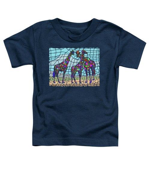 Giraffe Maze Toddler T-Shirt