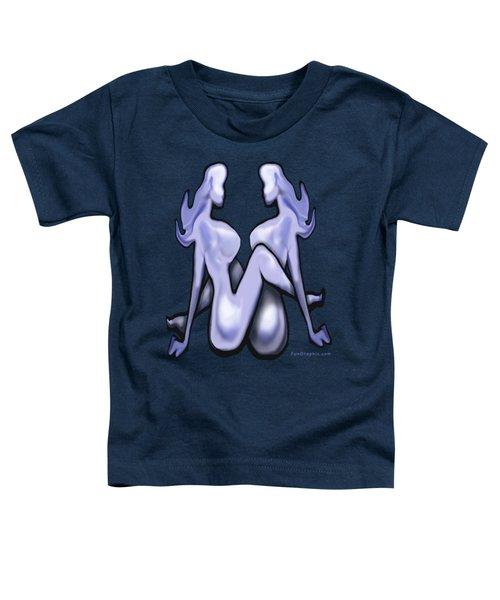 Girl On Girl Action Toddler T-Shirt
