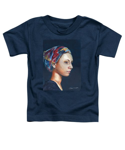 Girl With Headscarf Toddler T-Shirt