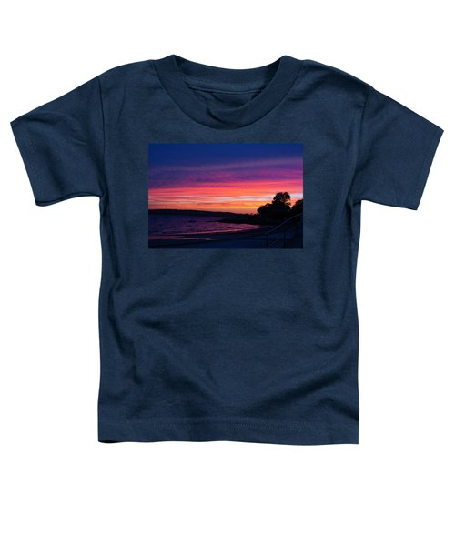 Gloucester Harbor Beach Toddler T-Shirt