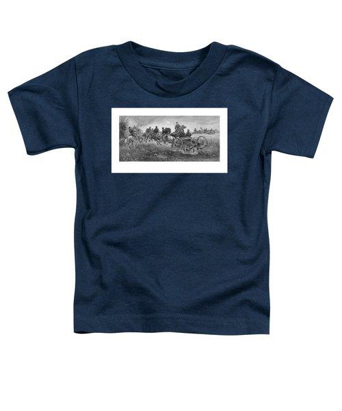 Going Into Battle - Civil War Toddler T-Shirt