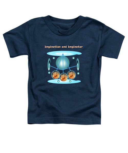 Gold Fish And The Orange Plant Toddler T-Shirt
