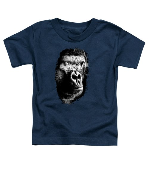 Gorilla Canvas Print, Photographic Print, Art Print, Framed Print, Greeting Card, Iphone Case, Toddler T-Shirt