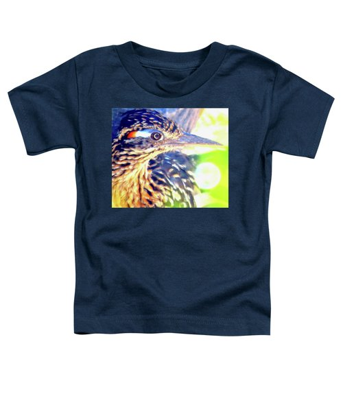 Greater Roadrunner Portrait 2 Toddler T-Shirt