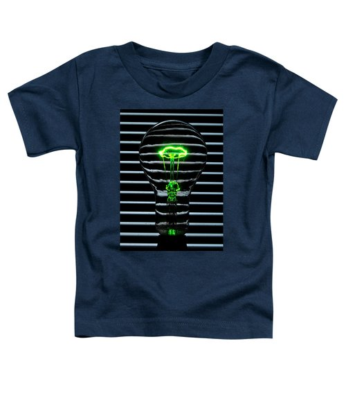 Green Bulb Toddler T-Shirt