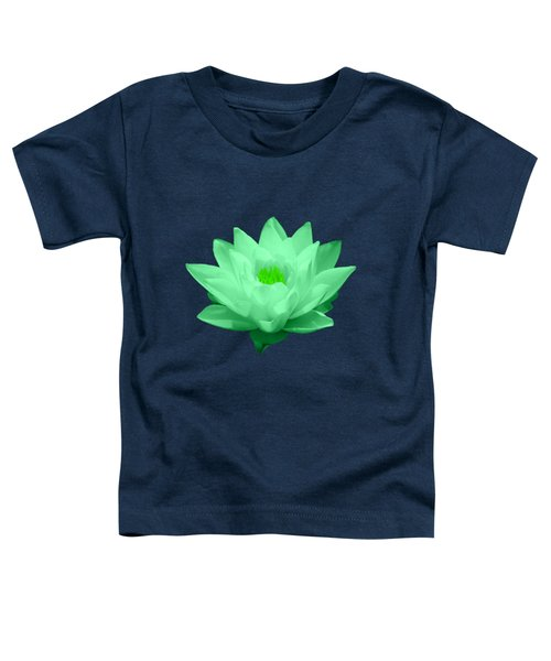 Green Lily Blossom Toddler T-Shirt by Shane Bechler