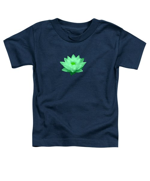 Green Lily Blossom Toddler T-Shirt