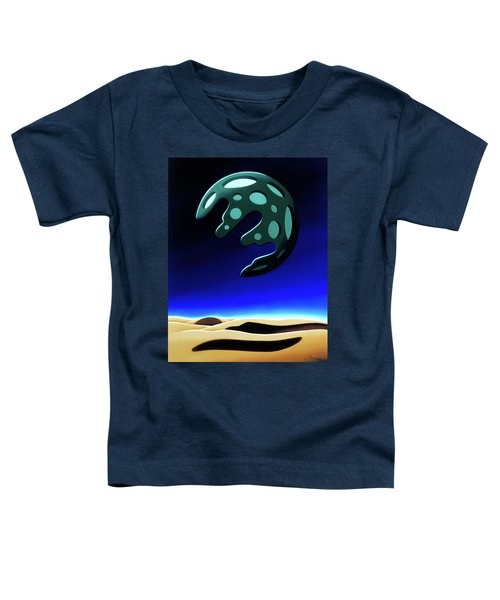 Green Moon Rising Toddler T-Shirt