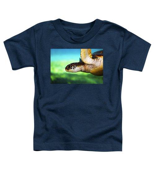 Green Sea Turtle Toddler T-Shirt