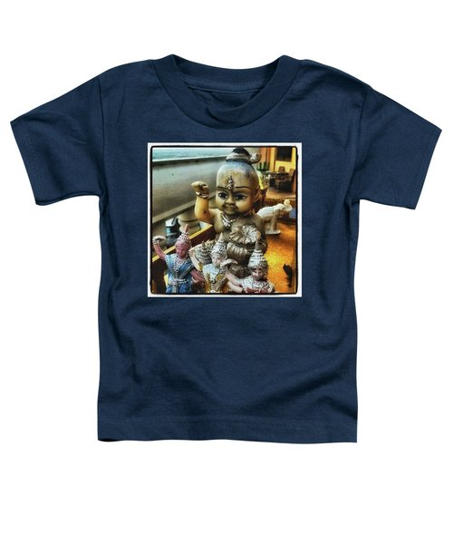 Toddler T-Shirt featuring the photograph Greetings From Thailand. These Jolly by Mr Photojimsf