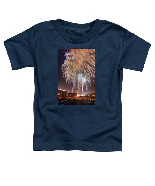 Guy Fawkes Night Fireworks Toddler T-Shirt