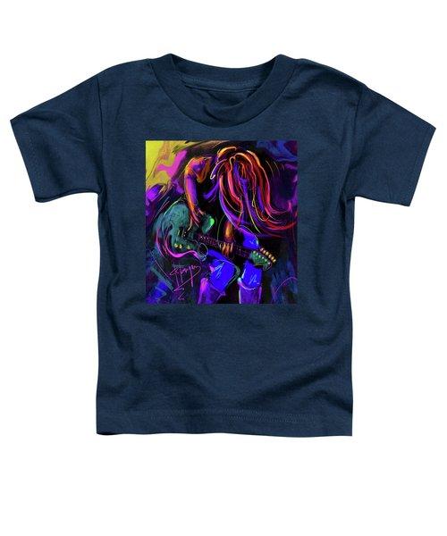 Hair Guitar 2 Toddler T-Shirt