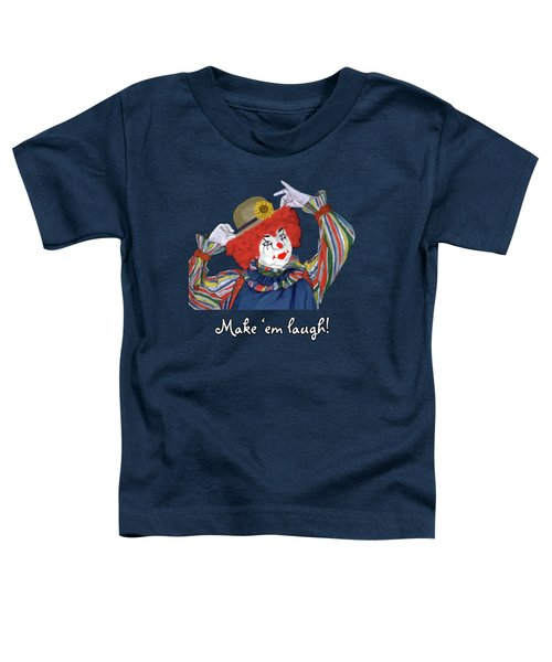 Happy Clown Toddler T-Shirt