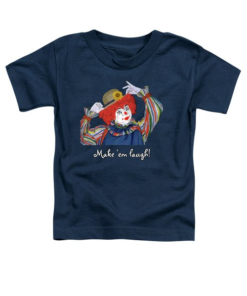Happy Clown Toddler T-Shirt