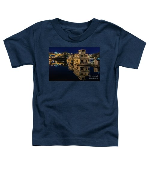 Harriet Island Houseboats Toddler T-Shirt