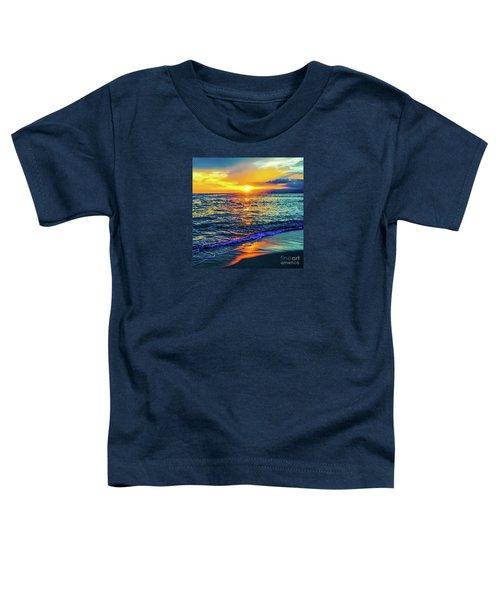 Hawaii Beach Sunset 149 Toddler T-Shirt
