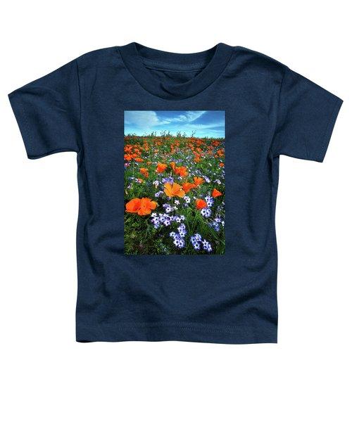 High Desert Wildflowers Toddler T-Shirt