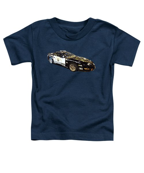 Highway Interceptor Art Toddler T-Shirt