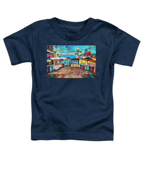 Historic Market Square Toddler T-Shirt