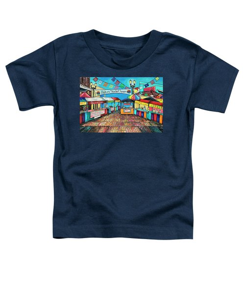 Historic Market Square Toddler T-Shirt