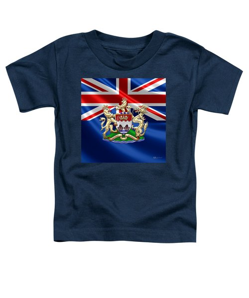 Hong Kong - 1959-1997 Coat Of Arms  Toddler T-Shirt