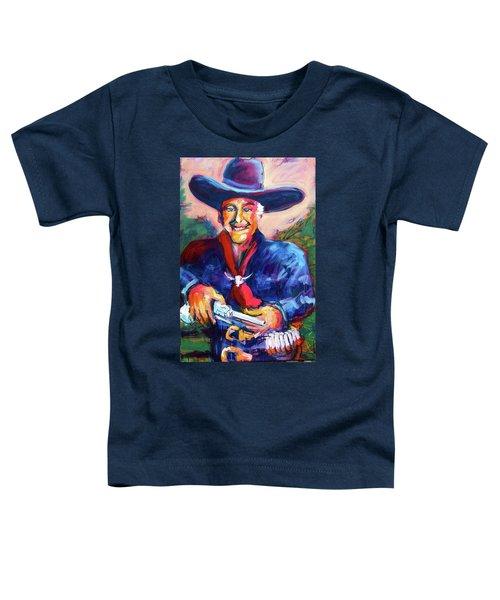 Hoppy's Got A Gun Toddler T-Shirt