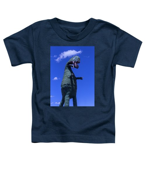 Hungry Dinosaur Head In The Clouds Toddler T-Shirt
