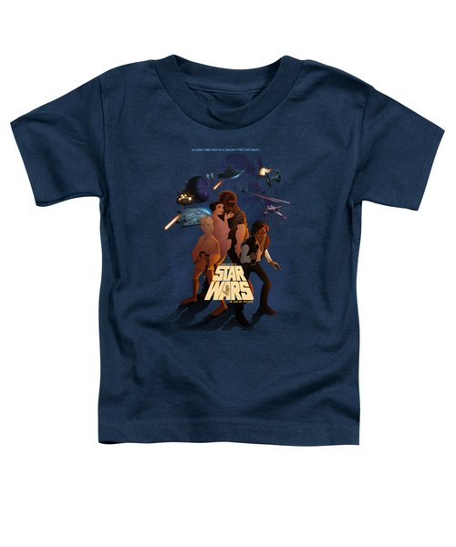 I Grew Up With Starwars Toddler T-Shirt