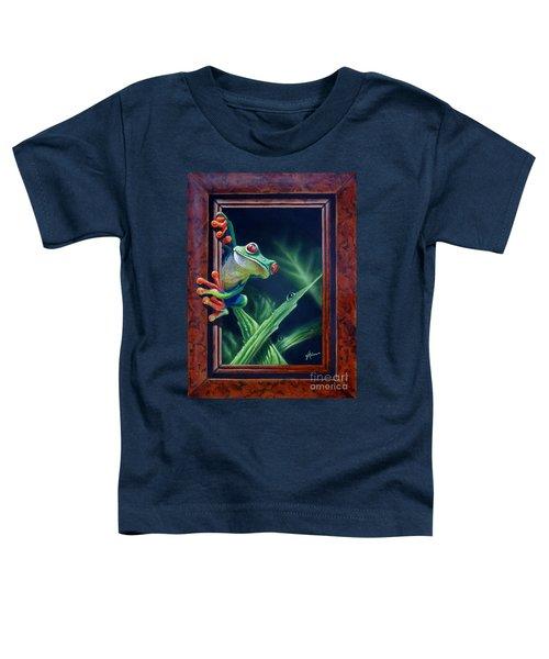 'i Was Framed' Toddler T-Shirt