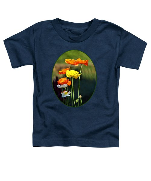 Iceland Poppies In The Sun Toddler T-Shirt