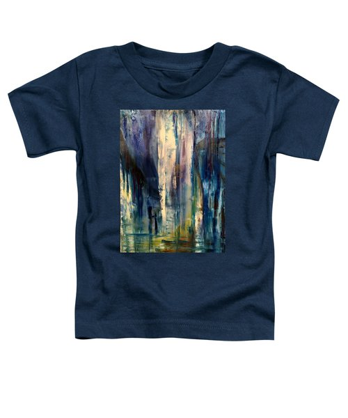 Icy Cavern Abstract Toddler T-Shirt
