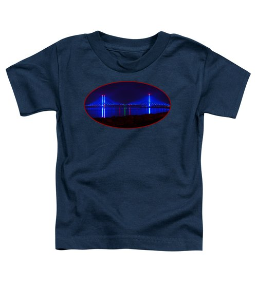 Indian River Inlet Bridge After Dark Toddler T-Shirt