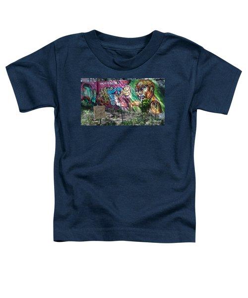 Isham Park Graffiti  Toddler T-Shirt by Cole Thompson