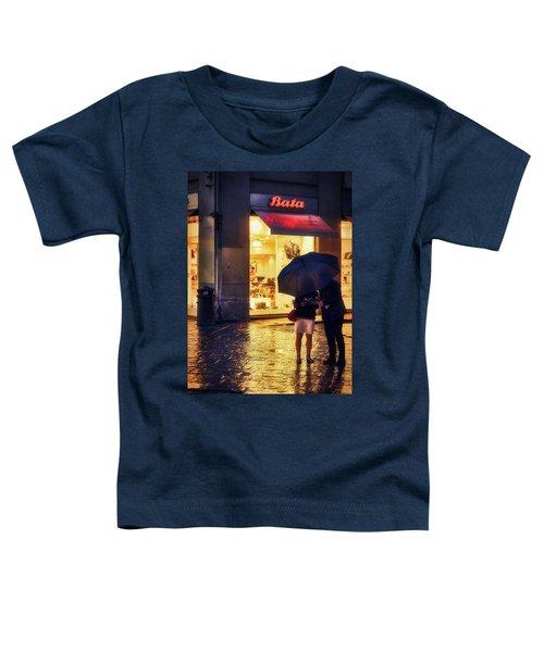 It Is Raining In Firenze Toddler T-Shirt