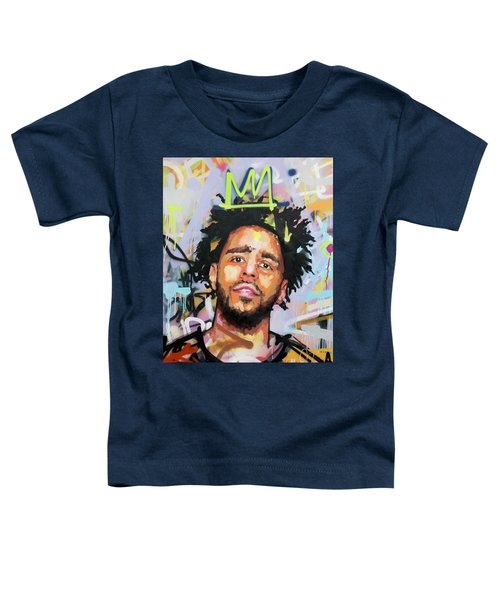 J Cole Toddler T-Shirt by Richard Day