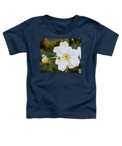 Japanese Anemone Toddler T-Shirt
