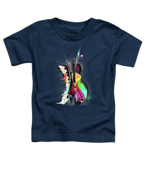 Jazz Toddler T-Shirt by Melanie D