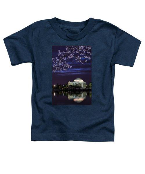 Jefferson Cherry Sunrise Toddler T-Shirt