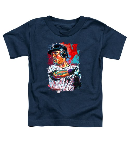 Jeter At Bat Toddler T-Shirt