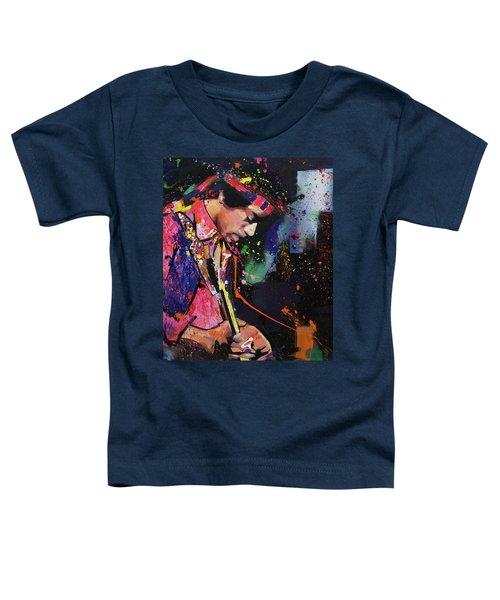 Jimi Hendrix II Toddler T-Shirt