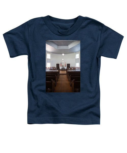 Jury Box In A Courthouse, Old Toddler T-Shirt