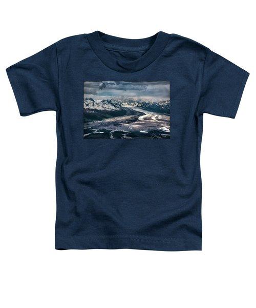 Kahiltna Glacier Toddler T-Shirt