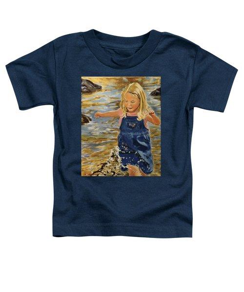 Kate Splashing Toddler T-Shirt