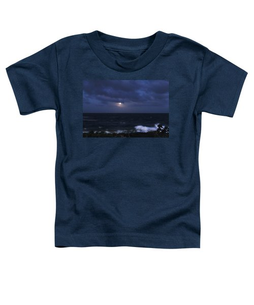 Kauai Moon At Poipu Toddler T-Shirt