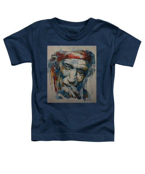 Keith Richards Art Toddler T-Shirt