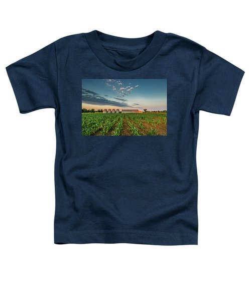 Knee High Sweet Corn Toddler T-Shirt